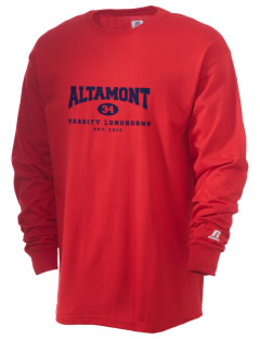 Altamont High School Longhorns  Russell Men's Long Sleeve T-Shirt