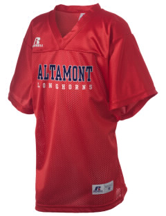 Altamont High School Longhorns Russell Kid's Replica Football Jersey