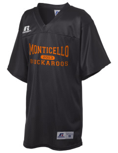 Monticello High School Buckaroos Russell Kid's Replica Football Jersey