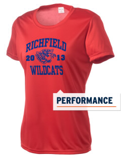 Richfield High School Wildcats Women's Competitor Performance T-Shirt
