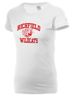 Richfield High School Wildcats  Russell Women's Campus T-Shirt