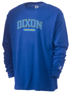 Dixon Middle School Panthers  Russell Men's Long Sleeve T-Shirt