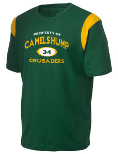 Camels Hump Middle School Crusaders Holloway Men's Rush T-Shirt