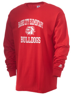 Barre City Elementary Middle School Bulldogs  Russell Men's Long Sleeve T-Shirt