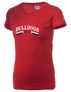 Barre City Elementary Middle School Bulldogs  Russell Women's Campus T-Shirt