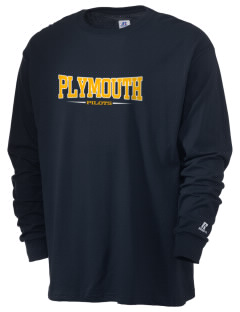 Plymouth Elementary School Pilots  Russell Men's Long Sleeve T-Shirt