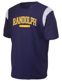 Randolph Elementary School Stars Holloway Men's Rush T-Shirt