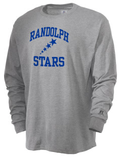 Randolph Elementary School Stars  Russell Men's Long Sleeve T-Shirt