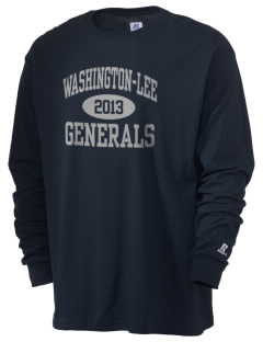 Washington-Lee High School Generals  Russell Men's Long Sleeve T-Shirt