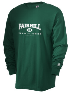 Fairhill Elementary School Tigers  Russell Men's Long Sleeve T-Shirt