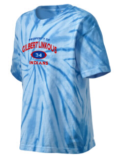 Gilbert Linkous Elementary School Indians Kid's Tie-Dye T-Shirt