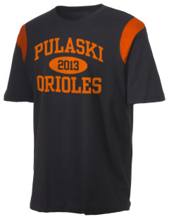 Pulaski Middle School Orioles Holloway Men's Rush T-Shirt