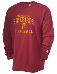 River's Edge High School Firebirds  Russell Men's Long Sleeve T-Shirt