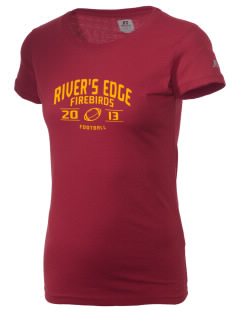 River's Edge High School Firebirds  Russell Women's Campus T-Shirt