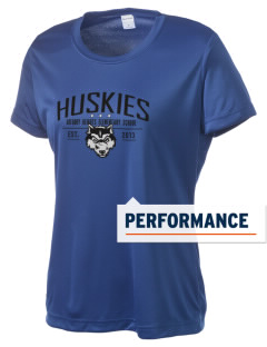 Gregory Heights Elementary School Huskies Women's Competitor Performance T-Shirt