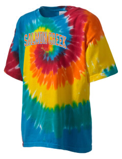 Salmon Creek Elementary School Salmons Kid's Tie-Dye T-Shirt