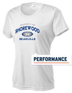 Shorewood Elementary School Seagulls Women's Competitor Performance T-Shirt