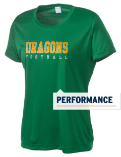 Valley View Elementary School Dragons Women's Competitor Performance T-Shirt