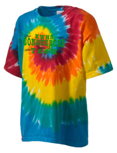 Kentwood High School Conquerors Kid's Tie-Dye T-Shirt