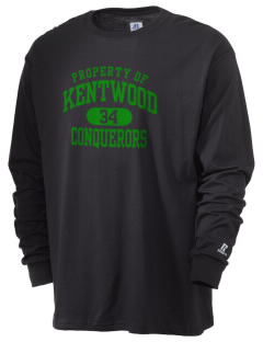 Kentwood High School Conquerors  Russell Men's Long Sleeve T-Shirt