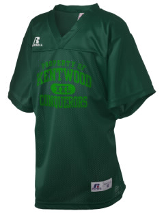 Kentwood High School Conquerors Russell Kid's Replica Football Jersey