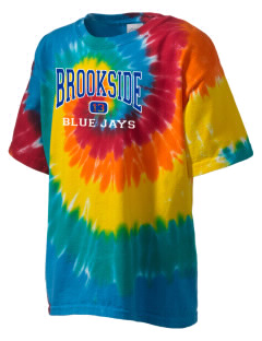 Brookside Elementary School Blue Jays Kid's Tie-Dye T-Shirt