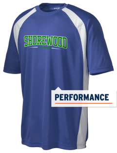Shorewood High School Thunderbirds Men's Dry Zone Colorblock T-Shirt
