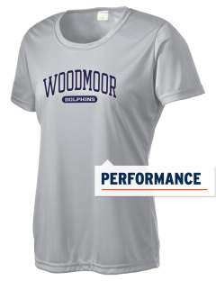 Woodmoor Elementary School Dolphins Women's Competitor Performance T-Shirt