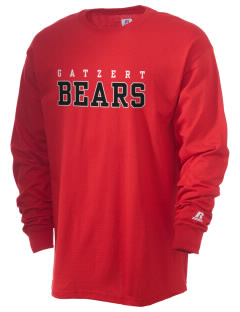 Gatzert Elementary School Bears  Russell Men's Long Sleeve T-Shirt