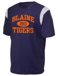 Catherine Blaine School Tigers Holloway Men's Rush T-Shirt