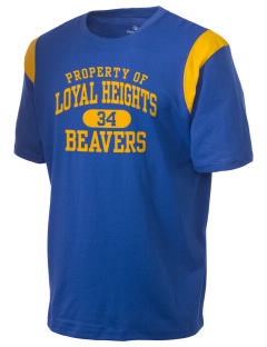 Loyal Heights Elementary School Beavers Holloway Men's Rush T-Shirt