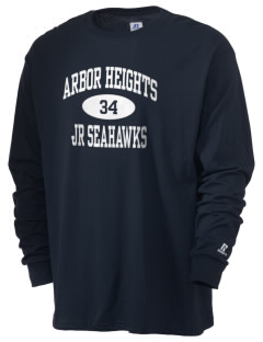 Arbor Heights Elementary School Jr Seahawks  Russell Men's Long Sleeve T-Shirt