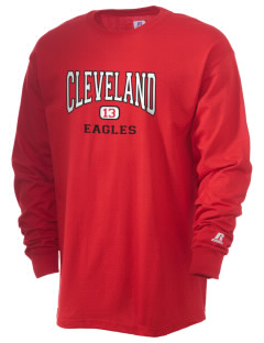 Cleveland High School Eagles  Russell Men's Long Sleeve T-Shirt