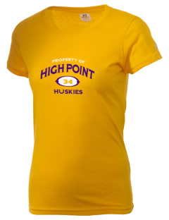 High Point Elementary School Huskies  Russell Women's Campus T-Shirt
