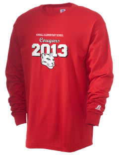 Kimball Elementary School Cougars  Russell Men's Long Sleeve T-Shirt