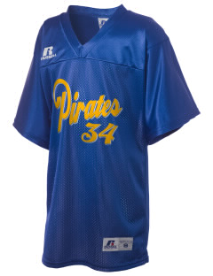 Adna Senior High School Pirates Russell Kid's Replica Football Jersey