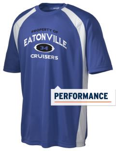 Eatonville High School Cruisers Men's Dry Zone Colorblock T-Shirt