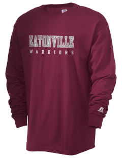 Eatonville Middle School Warriors  Russell Men's Long Sleeve T-Shirt