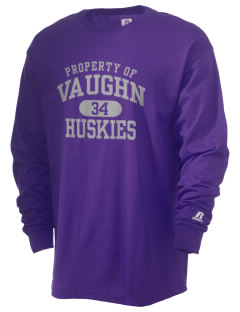 Vaughn Elementary School Huskies  Russell Men's Long Sleeve T-Shirt
