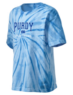 Purdy Elementary School Panthers Kid's Tie-Dye T-Shirt