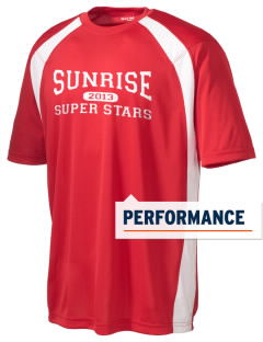 Sunrise Elementary School Super Stars Men's Dry Zone Colorblock T-Shirt