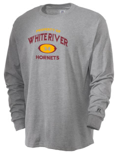 White River High School Hornets  Russell Men's Long Sleeve T-Shirt