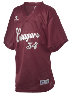 Westgate Elementary School Cougars Russell Kid's Replica Football Jersey