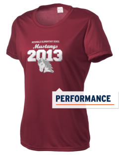 McDonald Elementary School Mustangs Women's Competitor Performance T-Shirt