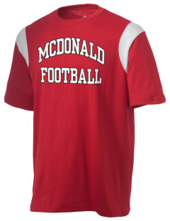 McDonald Elementary School Mustangs Holloway Men's Rush T-Shirt