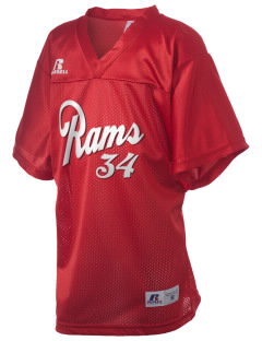 Riverside High School Rams Russell Kid's Replica Football Jersey