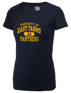 East Farms Elementary School Panthers  Russell Women's Campus T-Shirt