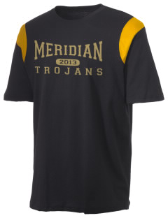 Meridian High School Trojans Holloway Men's Rush T-Shirt