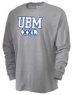 University Baptist Montessori Lamps  Russell Men's Long Sleeve T-Shirt