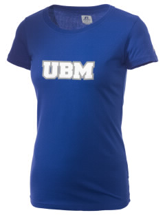 University Baptist Montessori Lamps  Russell Women's Campus T-Shirt